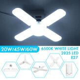 20ワット45ワット60ワット変形可能なE27 LEDガレージ電球天井の据え付け品ショップワークショップランプAC110-265V