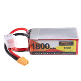 ZOP Power 18.5V 1800mAh 100C 5S Lipo Battery XT60 stik til RC Drone