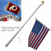 80cm-160cm Aluminum Flexible Fashionable Tour Guide Flag Poles