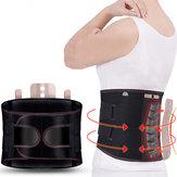 KALOADApoioTraseiroOmbroLumbarCorrector Ajustável Aptidão Exercício Esporte Auto-aquecimento Da Cintura Cinto Protetor