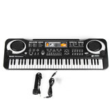 61 Tuşlu Çocuk Elektronik Klavye Organ Piyano Seti, Mikrofon Set