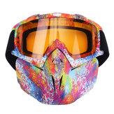 5 Colorful LenフレキシブルゴーグルメガネはATVダートバイクセキュリティ