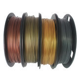 CCTREE® 4Color PLA Set Bronze + Cuivre + Or + Argent 1.75mm 200g / Roll PLA Set de filaments pour imprimante 3D Reprap