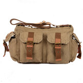 Men Large Capacity Messenger Outdoor Shoulder Crossbody Bag