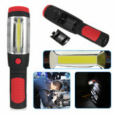 3W COB And 1W LED Inspection Lamp Work Emergency Magnetic Flashlight