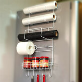 Frigorifero Side Storage Rack Space Saver Kitchen Storage Wrap Rack Organizzatore Accessori frigorifero