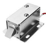 12V DC 0.65A Electric Lock Assembly Solenoid Cabinet Drawer Door Lock Tongue Latch