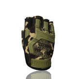 Pair Military Tactical Gloves Half Finger Shooting Hunting Motorcycle Army Outdoor Cycling Hiking Gloves