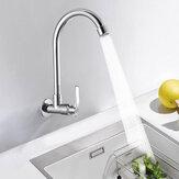 Robinet vertical d'évier de cuisine en laiton à robinet à rotation à 360 degrés
