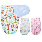 Unisex Newborn Cosy Secure Baby Swaddle Blanket Wrap Sleeping Bag For Pram Cribs