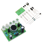 DIY Sprachgesteuertes Melodielicht 5MM Highlight DIY LED Flash Elektronisches Training Satz