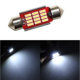 36MM 4014 12SMD Memperhiasi Dome LED Light Interior Reading Bulb 12 ~24V DC Non-polar with Radiating Function