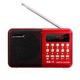 DC 5V Mini tasca portatile da 3 W LCD Digital FM Radio Altoparlante USB TF AUX MP3 Player