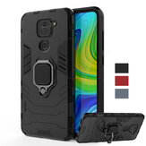 Bakeey Armor Shockproof Magnetic with 360 Rotation Finger Ring Holder Stand PC Protective Case for Xiaomi Redmi Note 9