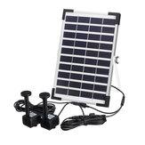10V 5W Solar Bomba eléctrica para fuente de agua para Piscina Pond Garden al aire libre Sumergible