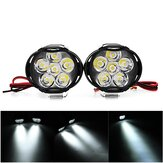 2 STKS 9-85 V 1000lm 10 W Motorcycle Spotlight Motorbike Koplamp Fiets Scooter ATV Koplamp