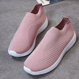 Große Größe Damen Mesh Outdoor Slip On Sneakers