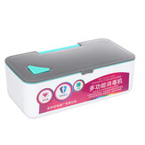 UV Disinfection Box Portable Ultraviolet Mask Toothbrush Watch Phone Sterilizer