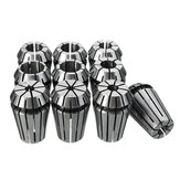 10pcs ER20 4-13mm Spring Collet Chuck Set For CNC Milling Machine Engraving Lathe Tool