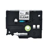 9mm 12mm Printer Label Tape for Brother PT-E100B/300BT/D210 Printer