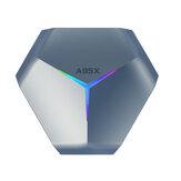 A95X F4 أمولوجيك S905X4 4GB رام128GB روم أندرويد 10.0 عالي الوضوح 4K RGB ضوء TV Box ذكي TV Box bluetooth 2.4G 5G WIFI Google Play Youtube فيديو TV BOX