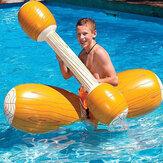 Balsa flotante de doble juego de 4 piezas