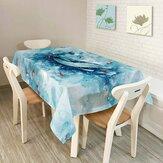 KCASA KC-TC2 stile americano paesaggio creativo Tovaglia colorata impermeabile Olio prova Tè panno da tavola casa partito decorativo