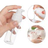 Frasco recarregável de espuma de 100 ml Shampoo fino Garrafas recarregáveis Loção de espuma Bomba Sabão Recipiente