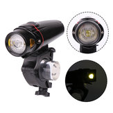 XANES XL24 LED Cycling Bike Light USB Charging Bicycl Headlight Electric Scooter Motorcycle