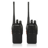 2 stks / set Baofeng BF-888S Walkie Talkie Draagbare Radio Station BF888s 5 W BF 888 S Comunicador Zender Transceiver Radio Set