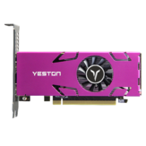 Yeston RX550-4G 4HDMI GA 4GB GDDR5 128Bit 1071MHz 6000MHz Graphics Card for Video Multi-Screen Series