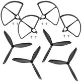Hubsan H501S X4 RC Quadcopter Spare Parts Propeller Pack with Blade Protector Guard