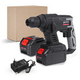 Doersupp Brushles Cordless Electric Rotary Hammer Drill Battery Indicator Rechargeable Impact Hammer Drill Tool W/ 1/2 Battery For Makita