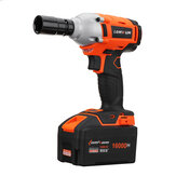 Lomvum 16000mA 320Nm High Torque Lithium-ion Impact Wrench Cordless Power Electric Wrench Drill