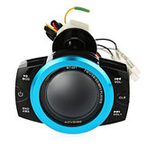 Motocicletta Anti Theft Audio System Stereo FM / TF / USB / SD / MP3 impermeabile