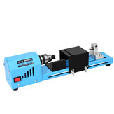 150W DC 12-24V 7000RPM Mini Beads Machine Lathe Miniature Grinding Polishing Beads Woodworking DIY Drill Rotary Tools Set