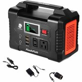[US Direct] FlashFish 200W 40800mAh Portable Power Generator Solar Power Station with 110V AC Outlet/2 DC Ports/3 USB Ports