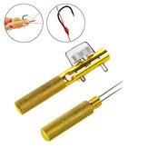 ZANLURE Metal pesca Gancho Tier pesca Gancho Anudado herramienta Removedor de desacoplamiento portátil pesca Tackle