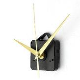 Ensemble d'outils de pièces de mécanisme de mouvement d'horloge à quartz de mains d'or bricolage