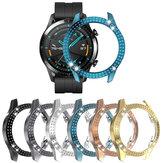 Bakeey PC Crystal Watch Case Cover Protecteur d'écran pour Huawei GT2 46MM Smart Watch