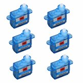 6 PCS 3.7g Micro Digital Servo GH-S37D Untuk RC Airplane Helicopter