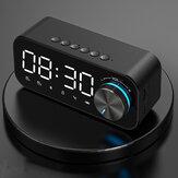 B126 bluetooth 5.0 Alarme com alto-falante Relógio Luz noturna Múltiplos modos de jogo LED Tela 360 ° Surround Som estéreo 1800mAh Bateria Vida