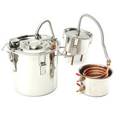 3 Gal 12L Alcohol Water Distiller Moonshine Still Stainless Boiler With Thumper Keg