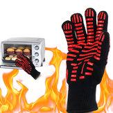 BBQGrillGlove500℃Estrema resistenza al calore Guanti Cottura a forno Guanti campeggio Picnic