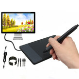 Huion 610 10x6.25In Design Graphic Drawing Tablet with Big Area+Digital Muse Pen