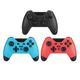Controlador de juegos inalámbrico Bluetooth Gamepad Soporte Turbo Gyro Axis Vibration Feedback para Nintendo Switch / Switch Lite / PC