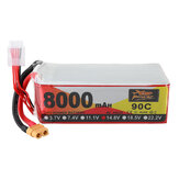 ZOP Power 14.8V 8000mAh 90C 4S Lipo Batterie XT60 Plug pour RC Racing Drone