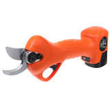 16.8V 2000mAh 600W Electric Cutter Pruning Shears Cordless Branch Grafting Scissor Tool with 2 Battery