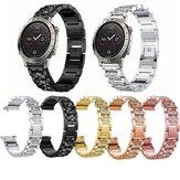 Bakeey Diamond Watch Strap Modische Drei Perlen Uhr Band für Garmin Fenix Chronos