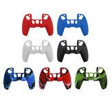 Custodia protettiva in silicone PS5 Wireless Gamepad Custodia per controller di gioco PS5 Custodia protettiva antiscivolo